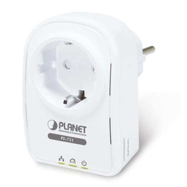 PLANET PL-751 500M Powerline Pass-Through Ethernet Bridge