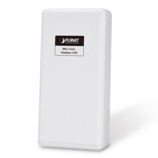 PLANET WNAP-7325 5GHz 300Mbps 802.11a/n Outdoor Wireless CPE (Built-in 14dBi Antenna)