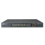 PLANET GS-5220-20T4C4XR L2+ 24-Port 10/100/1000T + 4-Port Shared SFP + 4-Port 10G SFP+ Managed Switch