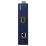PLANET IGT-905A Industrial Managed Gigabit Ethernet Media Converter with Wide Operating Temperature (-30~75 Degree C)