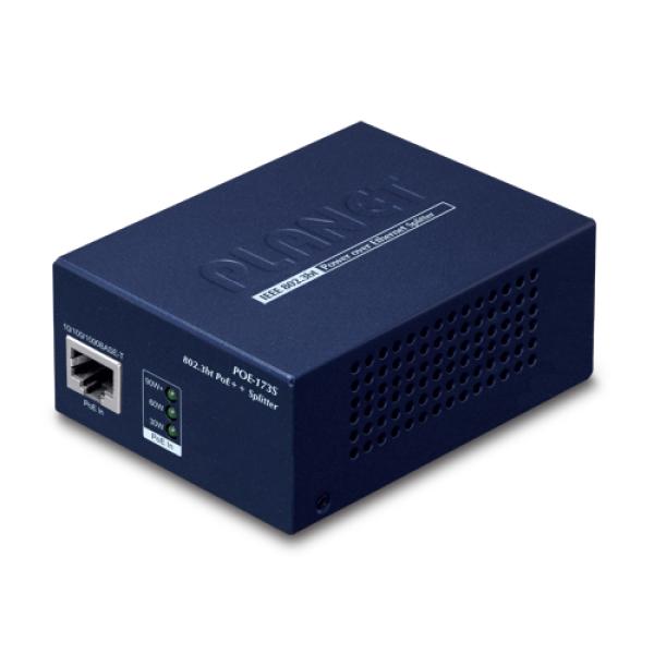 PLANET POE-173S Single-Port 10/100/1000Mbps 802.3bt PoE++ Splitter