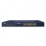 Planet FNSW-1600P 16-Port 10/100TX 802.3at PoE Ethernet Switch