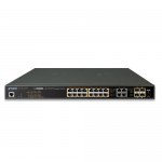 Planet GS-4210-16UP4C 16-Port 10/100/1000T Ultra PoE + 4-Port Gigabit TP/SFP Combo Managed Switch