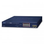 Planet GS-4210-8P2S 8-Port 10/100/1000T 802.3at PoE + 2-Port 100/1000X SFP Managed Switch
