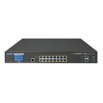 PLANET GS-5220-16UP2XV L2+ 16-Port 10/100/1000T Ultra PoE + 2-Port 10G SFP+ Managed Switch with LCD Touch Screen (400W)