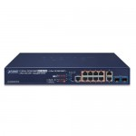 PLANET GS-5220-8UP2T2X Layer 3 8-Port 10/100/1000T 802.3bt PoE + 2-Port 10/100/1000T + 2-Port 10G SFP+ Managed Switch