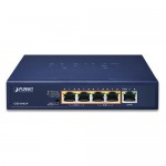 PLANET GSD-504UP 2-Port 10/100/1000T 802.3bt PoE + 2-Port 10/100/1000T 802.3at PoE + 1-Port Gigabit Desktop Switch (External 120 Watts)