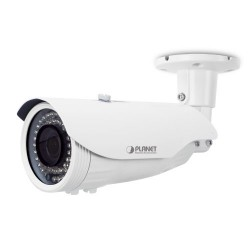 PLANET ICA-3460V H.265 4MP PoE Bullet IR IP Camera with Vari-focal Lens