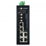 PLANET ICG-2510WG-LTE Industrial 4G LTE Cellular Wireless Gateway with 5-Port 10/100/1000T