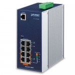 Planet IGS-4215-4P4T Industrial 4-Port 10/100/1000T 802.3at PoE + 4-Port 10/100/1000T Managed Switch (-40~75 degrees C)