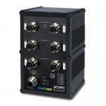 Planet IGS-5227-6MT-X Industrial IP67 Rated 6-Port 10/100/1000T M12 Managed Ethernet Switch