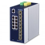 PLANET IGS-6325-8T8S Industrial L3 8-Port 10/100/1000T + 8-Port 100/1000X SFP Managed Ethernet Switch