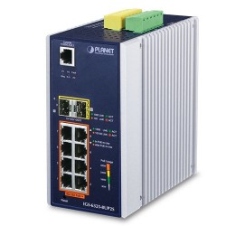 PLANET IGS-6325-8UP2S Industrial L3 8-Port 10/100/1000T 802.3bt PoE + 2-Port 100/1000X SFP + Managed Ethernet Switch
