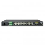 Planet IGSW-24040T Industrial 24-Port 10/100/1000Mbps with 4-Port Shared SFP Managed Gigabit Switch