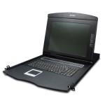 Planet IKVM-210-08M 17 8-Port Combo VGA LCD IP KVM Switch