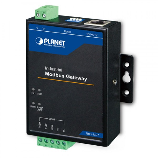Planet IMG-110T Industrial 1-port RS422/485 Modbus Gateway
