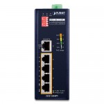 Planet ISW-504PT 5-Port 10/100Mbps with 4-Port PoE Industrial Ethernet Switch - Wide Temperature