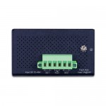 PLANET ISW-514PTF 4-Port 10/100Mbps with PoE +1-Port 100FX(SFP) Industrial Ethernet Switch - (-40~75 degrees C)
