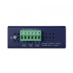 Planet ISW-621TF 4-Port 10/100Base-TX + 2-Port 100Base-FX SFP Industrial Ethernet Switch with Wide Operating Temperature