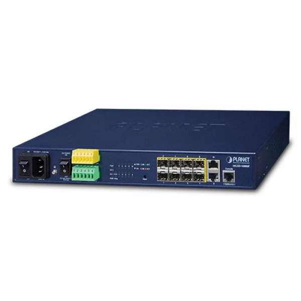Planet MGSD-10080F 8-Port 100/1000X SFP + 2-Port 10/100/1000T Managed Metro Ethernet Switch