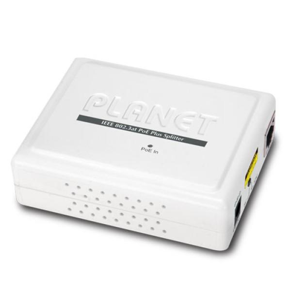 Planet POE-161S IEEE 802.3at Gigabit High Power over Ethernet Splitter - 5V/12V