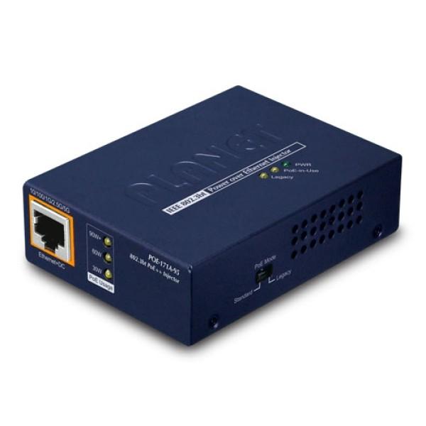 PLANET POE-171A-95 Single-Port 10/100/1000Mbps 802.3bt PoE Injector (95 Watts)