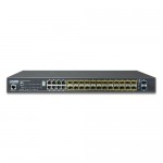 Planet SGS-5220-24S2XR L2+ 24-Port 100/1000BASE-X SFP with 8-Port Shared TP + 2-Port 10G SFP+ Managed Stackable Switch