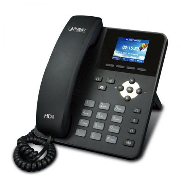 Planet VIP-1120PT High Definition Color PoE IP Phone