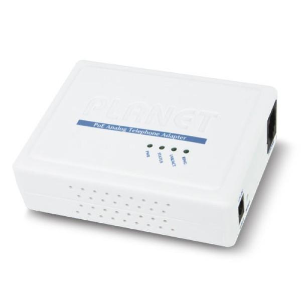 Planet VIP-156PE 802.3af PoE SIP Analog Telephone Adapter