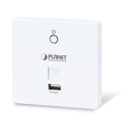 PLANET WDAP-W750E 750Mbps 802.11ac In-wall Wireless Access Point with USB Charger