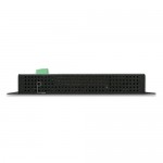 PLANET WGR-500-4PV  Industrial Wall-mount Gigabit Router with 4-Port 802.3at PoE+ and LCD Touch Screen