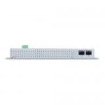 PLANET WGS-4215-16P2S  Industrial 16-Port 10/100/1000T 802.3at PoE+ 2-Port 100/1000X SFP Wall-mounted Managed Switch