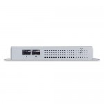 Planet WGS-4215-8P2S Industrial 8-Port 10/100/1000T 802.3at PoE + 2-Port 100/1000X SFP Wall-mount Managed Switch (-40~75 degrees C)