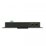 Planet WGS-5225-8P2S Industrial L2+ 8-Port 10/100/1000T 802.3at PoE + 2-Port 100/1000X SFP Wall-mount Managed Switch