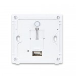 PLANET WNAP-W2200UE 300Mbps 802.11n In-Wall Wireless Access Point w/ USB Charger (EU Type, 802.3af/at)