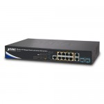 PLANET WS-1232P Wireless AP Managed Switch with 8-Port 802.3at PoE + 2-Port 10G SFP+