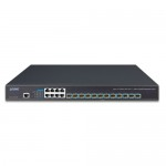 Planet XGS-6350-12X8TR Layer 3 12-Port 10G SFP+ + 8-Port 10/100/1000T Managed Switch with Dual 100~240V AC Redundant Power