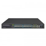 PLANET XGS-6350-24X4C Layer 3 24-Port 10G SFP+ + 4-Port 100G QSFP28 Managed Switch
