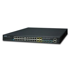 Planet XGS3-24042 Layer 3 24-Port 10/100/1000T + 4-Port 10G SFP+ Stackable Managed Switch