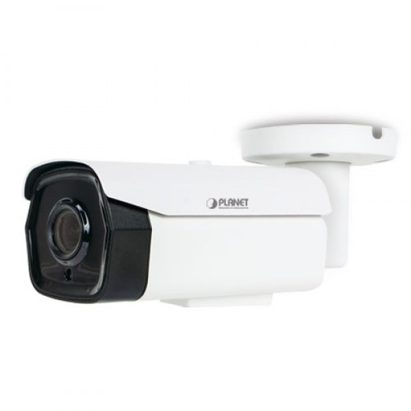 PLANET ICA-M3580P H.265 5 Mega-pixel Smart IR Bullet IP Camera with Remote Focus and Zoom