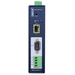 PLANET IMG-2105AT Industrial 1-port RS232/422/485 Modbus Gateway with 1-Port 100BASE-FX SFP