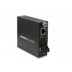 PLANET FST-806A20 10/100Base-TX to 100Base-FX (SC WDM, SM) Smart Media Converter- TX: 1310nm-20km