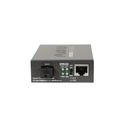 PLANET GT-806A15 10/100/1000Base-T to 1000Base-LX (WDM) Media Converter TX:1310nm~15km