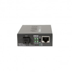 PLANET GT-806B15 10/100/1000Base-T to 1000Base-LX (WDM) Media Converter TX:1550nm~15km