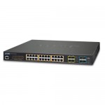 PLANET GS-5220-24UP4XR L2+ 24-Port 10/100/1000T Ultra PoE + 4-Port 10G SFP+ Managed Switch