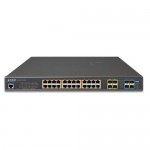 PLANET GS-5220-24UP4X L2+ 24-Port 10/100/1000T Ultra PoE + 4-Port 10G SFP+ Managed Switch