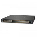 PLANET GS-5220-48PL4XR L2+ 48-Port 10/100/1000T 802.3at PoE + 4-Port 10G SFP+ Managed Switch