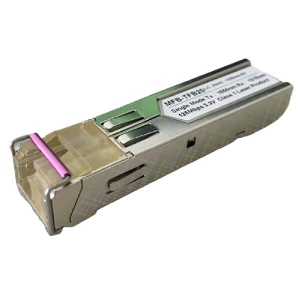 PLANET MFB-TFB20 SFP-Port 100Base-BX (Single Mode) LC (WDM, TX:1550nm) mini-GBIC module-20km (-40~75