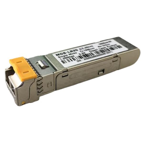 PLANET MGB-LB20 SFP-Port 1000Base-BX (Single Mode) LC (WDM, TX:1550nm) mini-GBIC module-20km