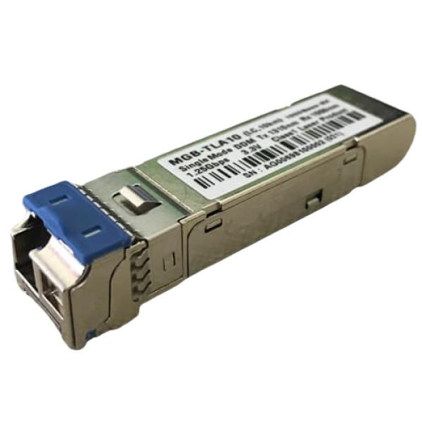 PLANET MGB-TLA10 SFP-Port 1000BASE-BX (Single Mode) LC (WDM, TX:1310nm) mini-GBIC module-10km